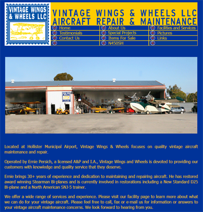 Screenshot Vintage Wings and Wheels